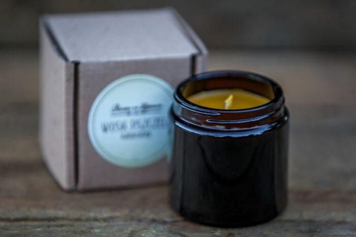 Naturalna swieczka z wosku pszczelego