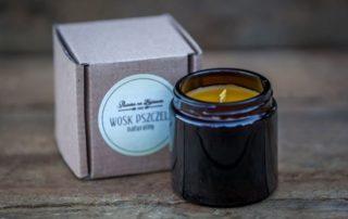 swieczka woskowa wosk pszczela eko